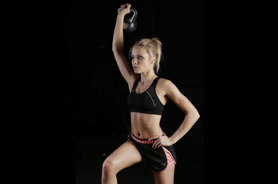 Beispiel Frau Functional Fitness