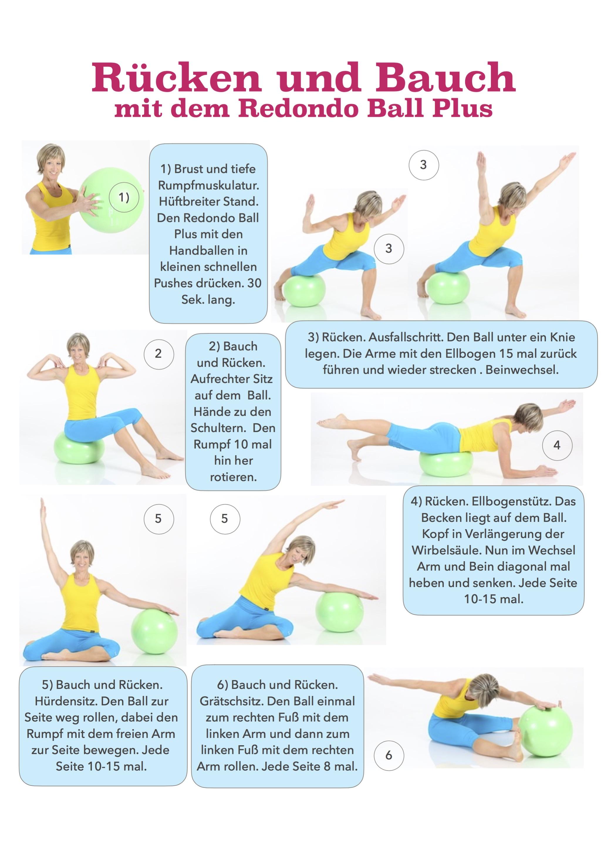 Rücken und Bauch